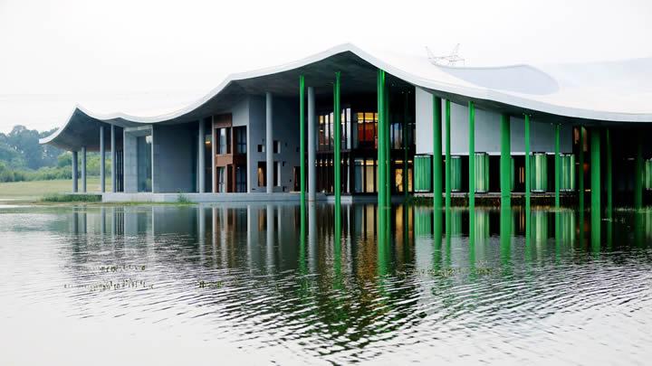 仙鹤湖湿地园