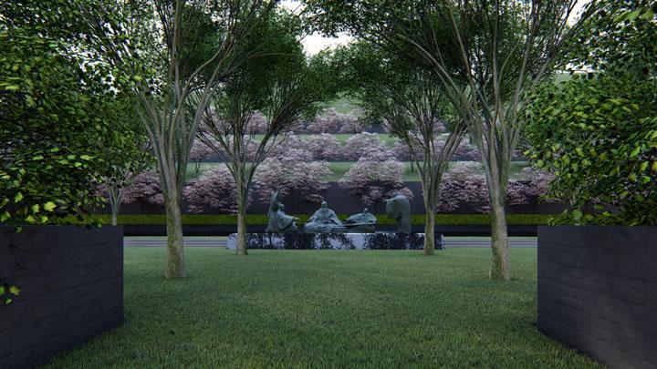 径山竹茶园